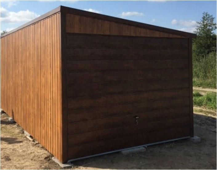 3x4,5 Dach mit Gefälle auf der rechten Seite SUPERLINE-PLUS v2